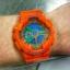 นาฬิกา คาสิโอ Casio G-Shock Limited Hyper Color รุ่น GA-110A-4 ( ส้ม ไฮเปอร์) หายาก ของแท้ รับประกันศูนย์ 1 ปี thumbnail 8