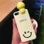เคส iPhone Smile สีเหลือง มีไฟ Selfie thumbnail 1