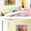 สติ๊กเกอร์หน้าต่างซากุระกับคู่รัก a574 thumbnail 2