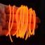 EL Wire 5 เมตร + รางถ่าน AA 2 ก้อน / สีส้ม thumbnail 2