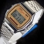 นาฬิกา คาสิโอ Casio STANDARD DIGITAL รุ่น A159WA-9 RETRO CLASSIC ของแท้ รับประกันศูนย์ 1 ปี thumbnail 4