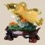 ปลามังกรทองกับดอกโบตั๋น ขนาด 30*13*30cm GD15 thumbnail 1