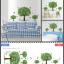 สติ๊กเกอร์ ต้นไม้3ต้น a79 thumbnail 2