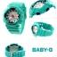 นาฬิกา คาสิโอ Casio Baby-G Girls' Generation Sporty Sneaker series รุ่น BA-110SN-3A สีเทอร์ควอยซ์ ของแท้ รับประกันศูนย์ 1 ปี thumbnail 3
