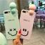 เคส iPhone Smile สีฟ้า มีไฟ Selfie thumbnail 3