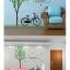 สติ๊กเกอร์ต้นไม้จักรยาน 2แผ่น a235 thumbnail 4