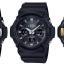 นาฬิกา Casio G-Shock Standard ANALOG-DIGITAL Tough Solar GAS-100 series รุ่น GAS-100G-1A (สีดำ-ทอง) ของแท้ รับประกัน1ปี thumbnail 2