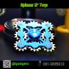 Hand Spinner เฟือง 5 แฉก งานอลูมิเนียม เกรดพรีเมี่ยม (สีน้ำเงิน)