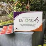 Detonica S ลดน้ำหนัก 10 แคปซูล 1 กล่อง