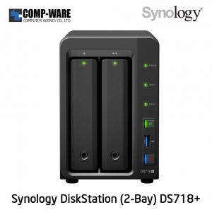 Synology DiskStation (2-Bay) DS718+ (2GB RAM)