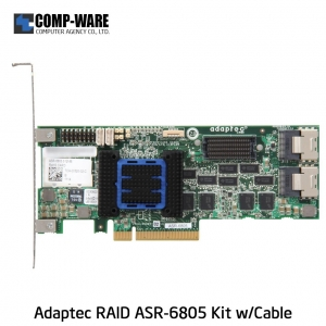 Microsemi Raid Controller 2271200-R (8-Port Internal) PCIe ASR-6805 Kit