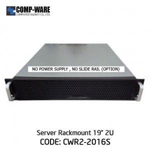 "Server Rackmount 19"" 2U CWR2-2016S (6-HDD Internal) ATX/2U Single Power Supply"
