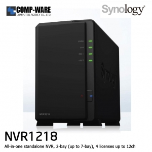 Synology Network Video Recorder NVR1218 (12CH)