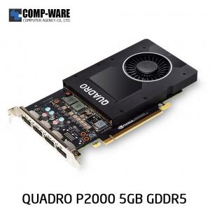 Leadtek Nvidia Quadro P2000 Workstation Graphics Card (ต่อออก 4 จอได้)