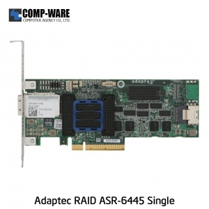 Microsemi Raid Controller 2270200-R (4-Port Internal,4-Port External) PCIe ASR-6445 Single