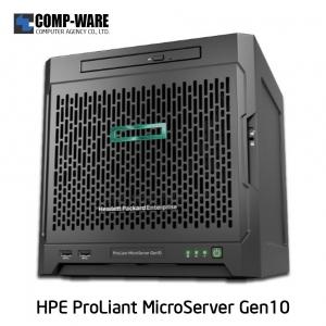 HPE ProLiant MicroServer Gen10 [P/N: 870208-371] X3216 8GB-U 1TB 4LFF NHP SATA 200W PS Entry Server