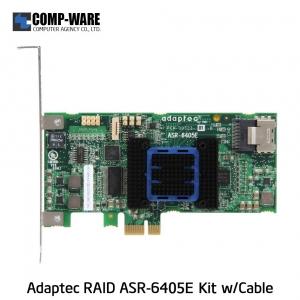 Microsemi Raid Controller 2271700-R (4-Port Internal,) PCIe ASR-6405E Kit