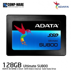 ADATA SSD Ultimate SU800 128GB 3D-NAND 2.5Inch SATA-III Internal Solid State Drive (ASU800SS-128GT)