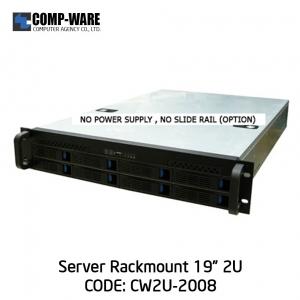 """Server Rackmount 19"""" 2U CW2U-2008 (8-Bays HotSwap) 2U Power Supply"""