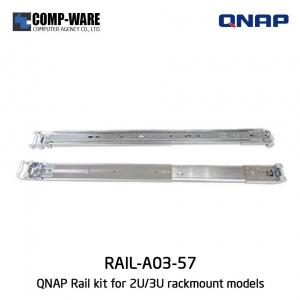 RAIL KIT (RAIL-A03-57) for 2U/3U QNAP Rackmount models