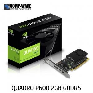 Leadtek Nvidia Quadro P600 Workstation Graphics Card (ต่อออก 4 จอได้)