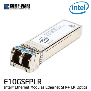 Intel Ethernet E10GSFPLR SFP+ LR Optics (not over 10km distance)