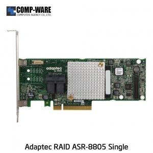 Microsemi Raid Controller 2277500-R (8-Port Internal) PCIe ASR-8805 Single