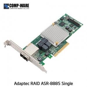 Microsemi Raid Controller 2277000-R (8-Port Internal, 8-Port External) PCIe ASR-8885 Single