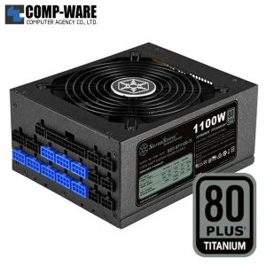 SilverStone Strider ST1100-TI 1100Watt 80Plus Titanium ATX Power Supply