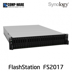 Synology FlashStation (2U 24-Bay 2.5inch) FS2017 (16GB ECC RDIMM RAM)