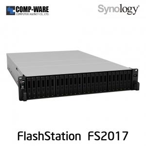 Synology FlashStation (2U 24-Bay 2.5inch) FS2017 (16GB ECC RDIMM RAM)