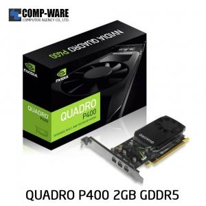 Leadtek Nvidia Quadro P400 Workstation Graphics Card (ต่อออก 3 จอได้)