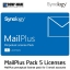 Synology MailPlus License Pack 5 (5 email accounts) thumbnail 1