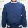 College Jacket เสื้อแจ็คเก็ตสีกรมท่าสไตล์วัยรุ่น