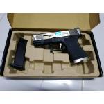 WE Glock19 G-Force สไลด์สีเงินท่อสีทอง