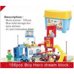 FUNLOCK 156 ชิ้น Boy Hero Dream Block