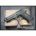 ปืนอัดลม สั้นระบบแก๊สโบลว์แบล็ค รุ่น M92 สไลด์ดำ GunHeaven