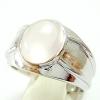 แหวนพลอยผู้หญิงเงินแท้ 92.5 เปอร์เซ็น ฝังด้วยพลอยโรสควอทซ์แท้