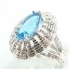 แหวนพลอยผู้หญิงเงินแท้ 92.5 เปอร์เซ็น ฝังด้วยพลอยโทปาซแท้