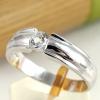 แหวนพลอยผู้หญิงเงินแท้ 92.5 เปอร์เซ็น ฝังด้วยพลอยไวท์โทปาซแท้
