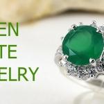 แหวนพลอยผู้หญิงกรีนอะเกทแท้