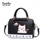 กระเป๋าทรงหมอนลายแมว แบรนด์ Duolaimi แท้ 💯%