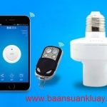 Smart Home For Light Holder WiFi Smart Switch and Remote 433MHz Switch