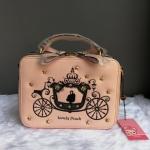 กระเป๋าสะพายทรงกล่องลายรถม้าแบรนด์ Peach ของแท้ 💯%
