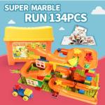 FUNLOCK ตัวต่อมาร์เบิ้ล 134 ชิ้น (Super Marble Run 134 pcs)