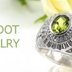 แหวนพลอยผู้ชายเพอริดอทแท้
