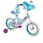 จักรยานโฟรเซ่น 4 ล้อ Huffy Disney Frozen 12inch Bike with Sleigh Doll Carrier สวยหวาน น่ารัก