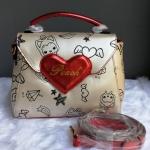 กระเป๋า Peach ของแท้ 💯% หัวใจแดงน่ารักๆ
