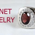 แหวนพลอยผู้ชายโกเม้นแท้