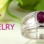 แหวนพลอยผู้หญิงทับทิมแท้